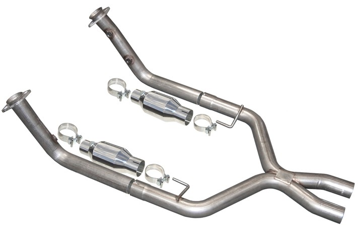 1999-2004 Mustang COBRA PYPES X-Pipe w/ High Flow Cats