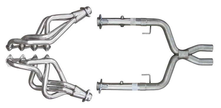 2005-2010 Mustang GT 4.6 PYPES Long Tube Headers & X-Pipe