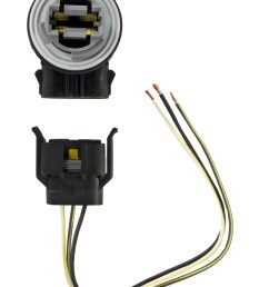 1999 2004 mustang or cobra front parking turn signal 3157 light socket connector wiring harness [ 1400 x 1920 Pixel ]