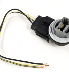 1999 2004 mustang or cobra front parking turn signal 3157 light socket connector wiring harness 1994 2004 mustang [ 1400 x 1113 Pixel ]