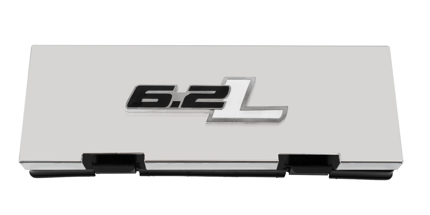 hight resolution of 2010 2014 ford f150 raptor stainless engine fuse box cover w 6 2l emblem