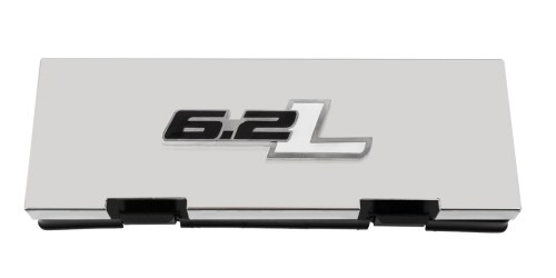 small resolution of 2010 2014 ford f150 raptor stainless engine fuse box cover w 6 2l emblem