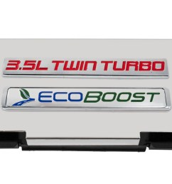 2010 2014 ford f150 stainless fuse box cover w 3 5l twin turbo ecoboost emblem [ 1400 x 702 Pixel ]