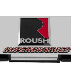 2010 2014 ford f150 roush raptor stainless engine fuse box cover w emblems engine compartment ford truck [ 1400 x 702 Pixel ]