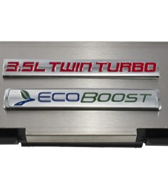 2010 2014 ford f150 brushed engine fuse box cover 3 5 twin turbo rh blueovalindustries com [ 1400 x 702 Pixel ]