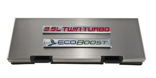 small resolution of 2010 2014 ford f150 brushed engine fuse box cover 3 5 twin turbo ecoboost emblem f150 ford truck