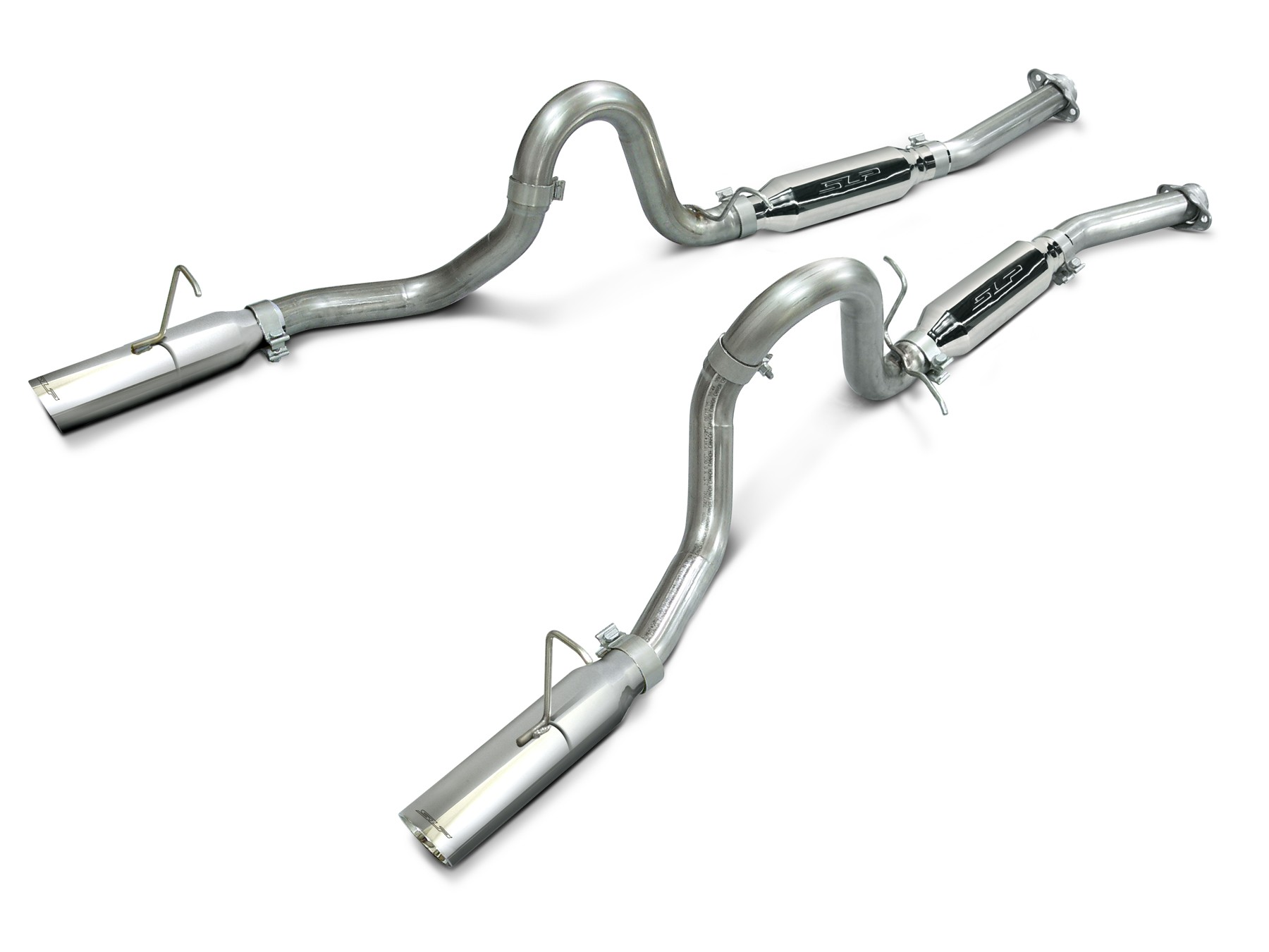 Mustang Lx Cobra Slp Loud Mouth Cat Back Exhaust