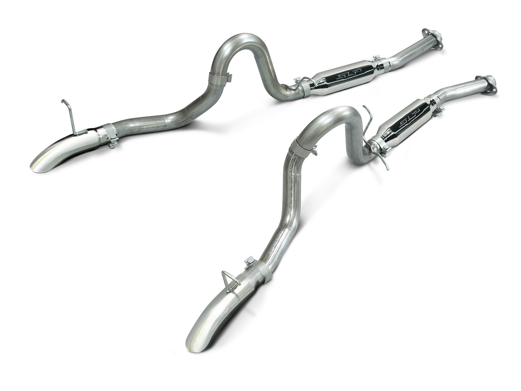 Mustang Gt 5 0 Slp Loud Mouth Cat Back Exhaust