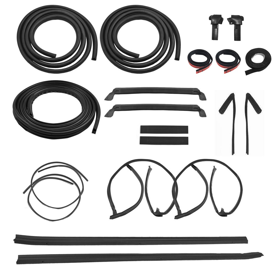 Mustang Gt T Top 20pc Weatherstrip Rubber Seal
