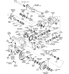 dana 44 dana 44hd ttb front axles blue oval trucks ford f 150 radius arm bushing as well ford dana 60 front axle diagram [ 1152 x 1295 Pixel ]