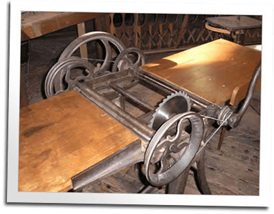 Antique Woodworking Machinery