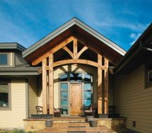 Mexico Timber Frame Homes - Blue Ox Frames
