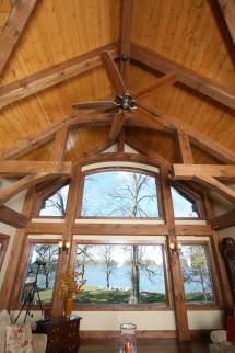 Interior Timber Frame Homes - Blue Ox