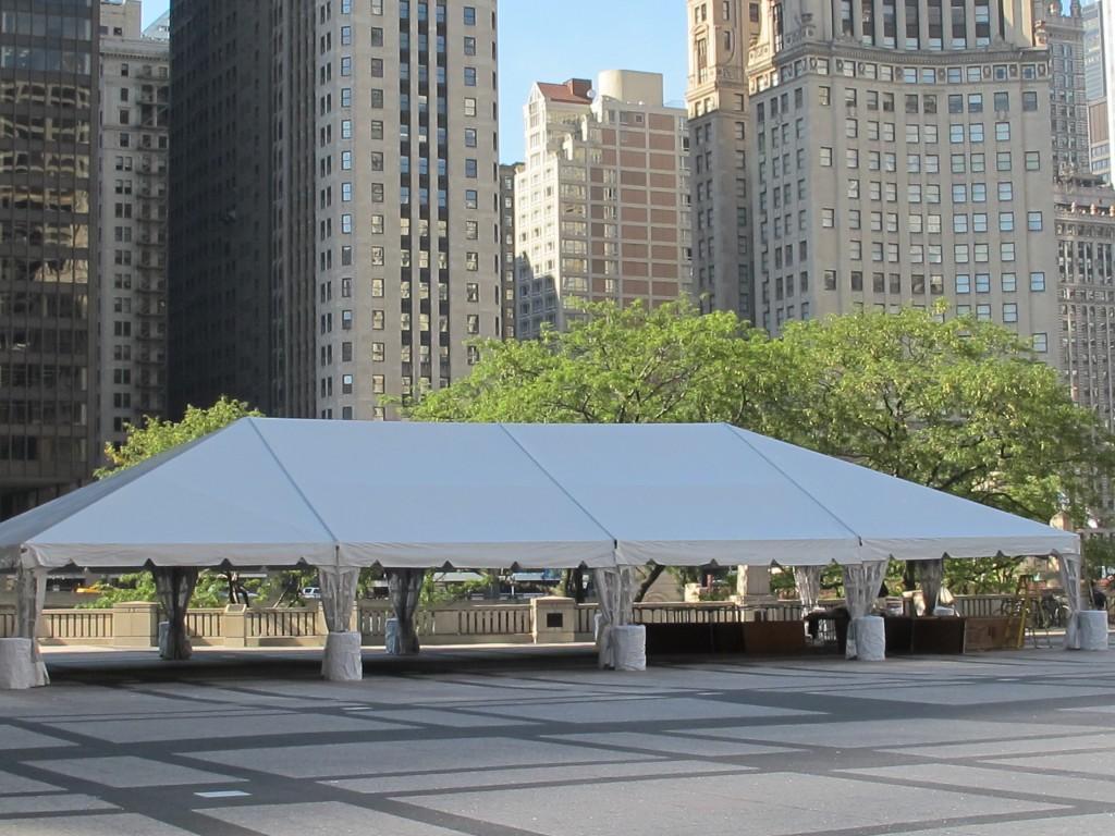 NaviTrac Frame Tent Rentals  Blue Peak Tents Inc