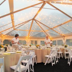 Wedding Chair Rentals Staples Chairs Clear-top Tents – Blue Peak Tents, Inc.