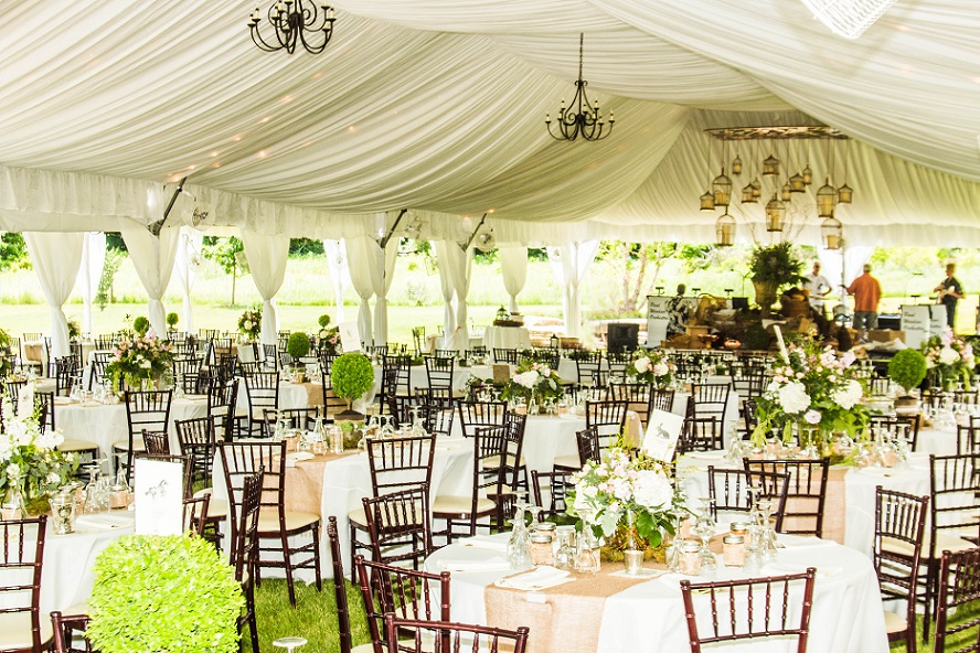 air chair frame italian dining chairs tent ceiling liner rental | blue peak tents, inc.