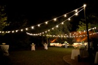 Open-Air Outdoor Caf Lighting | Blue Peak Tents, Inc.