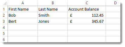 Mail Merge: Applying Currency Formatting to Numbers –