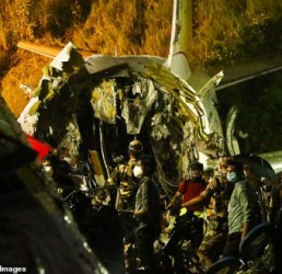 Tragedy as plane crashes, 16 dead, scores injured