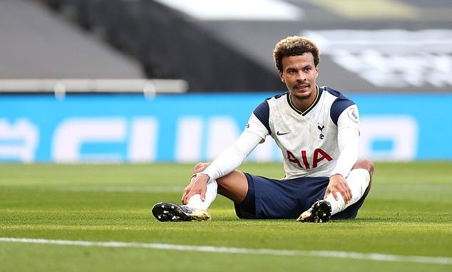 Breaking: Uncertainty as Mourinho axes Dele Alli from Tottenham squad again 10