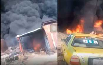 VIDEO: Tears, anguish as petrol tanker explodes in Lokoja, many feared dead