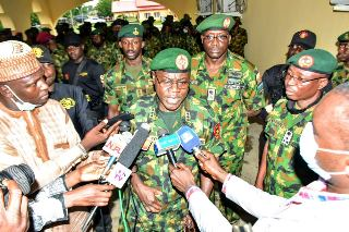 Intensify operations against bandits- COAS charges troops