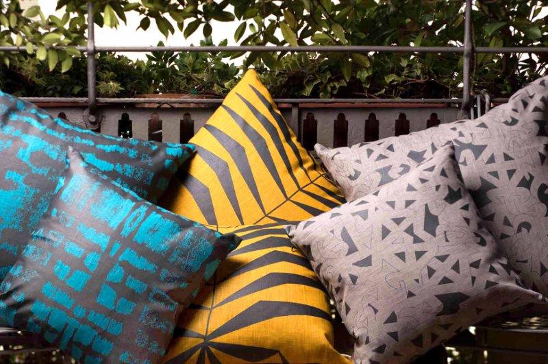 chrissa, amwa, textile, cushions, ghana, african print