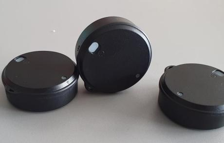BluEpyc BLE Disk Beacon R4 proximity alarm for social distancing