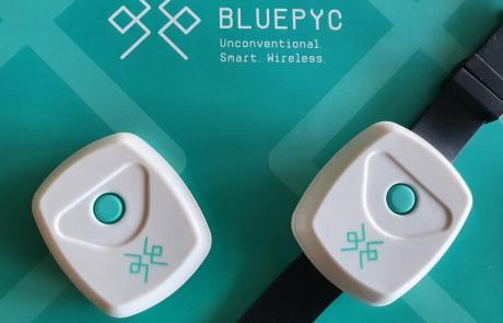 BluEpyc BLE Sensor Beacon Wake-up wrisband - Featured