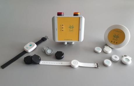 BluEye Demo Kit Bluetooth LE BluEye solution device for social distancing
