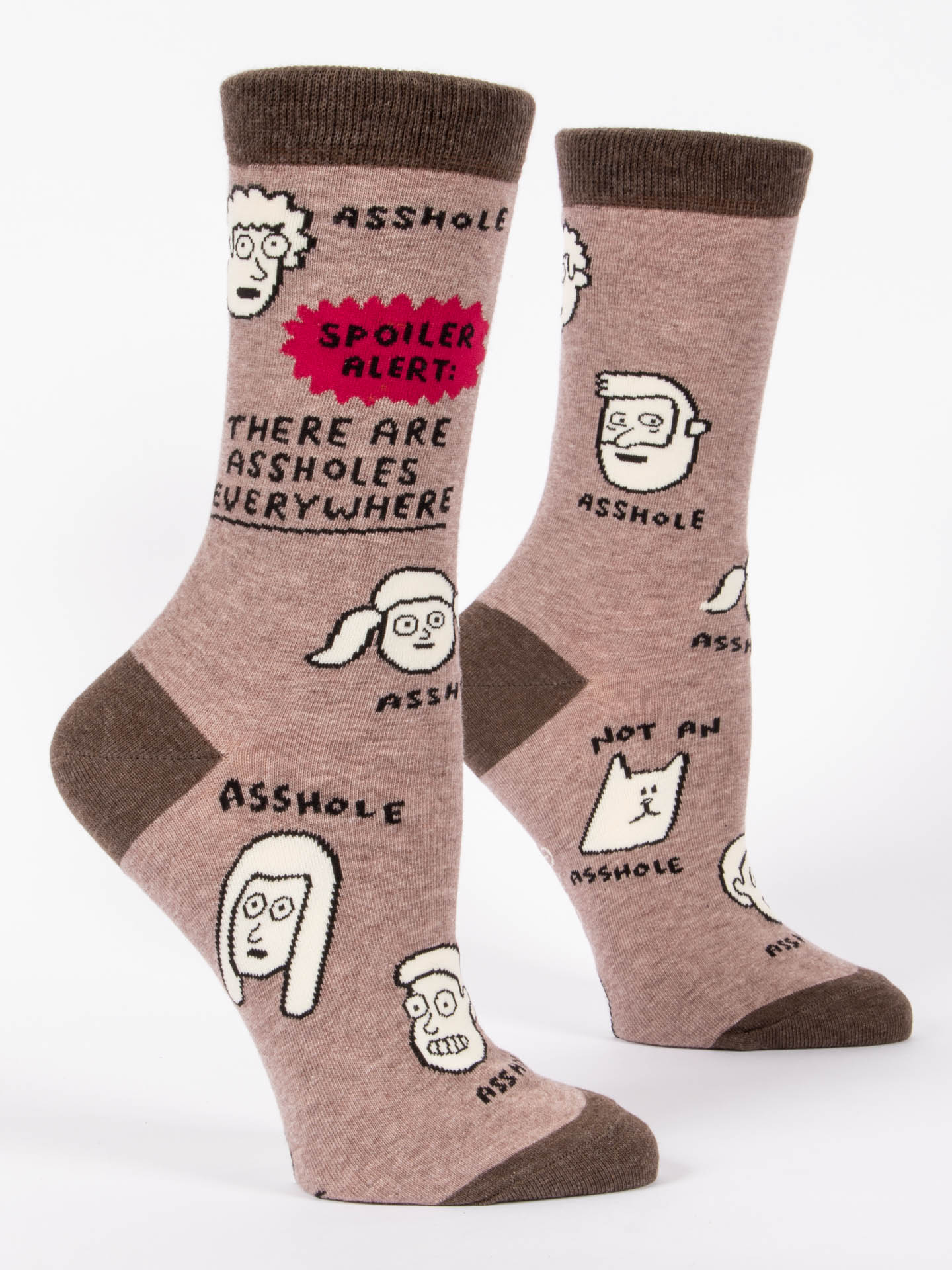 There Are Assholes Everywhere WCrew Socks