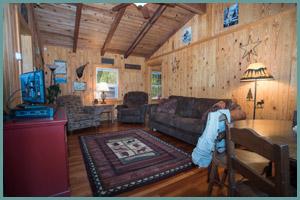Blue Ribbon Trout Cabin - Tour the Cabin