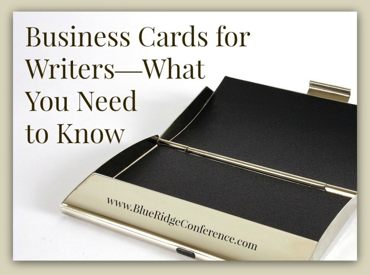 Business cards for writers blue ridge mountains christian writers business cards for writers colourmoves