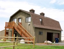 Building Barns to Live In