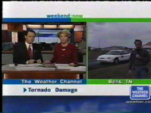 Tommy on Weather Channel in 2001 Tornados