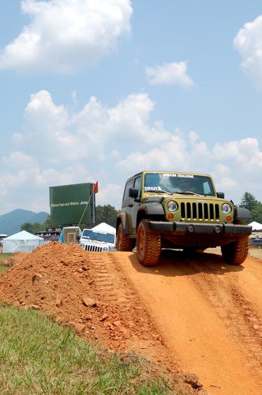 Jeep dirt trail