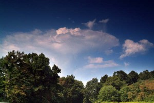 Late Summer Clouds At Wintergreen, Virginia : By Paul Purpura
