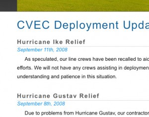 CVEC issues BPL Deployment update