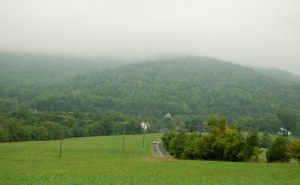 Low Clouds & Drizzle At Rodes Farm : Nellysford, Virginia