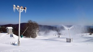 Photo By Paul Purpura ©NCL 2009 : Some slopes are slated to open this weekend at Wintergreen Resort.