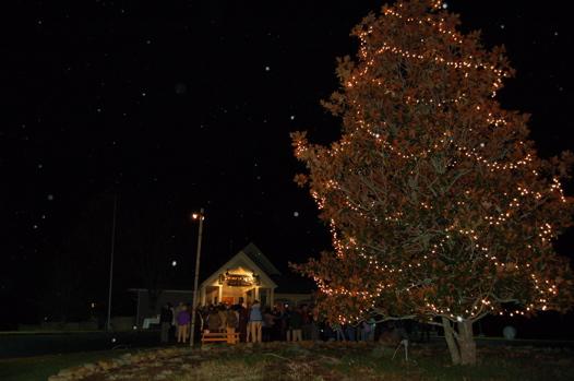 christmas tree lighting at stoney creek b g december 3rd 2008