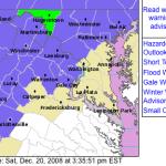Winter Weather Advisory Until 10 AM Sunday - CANCELED