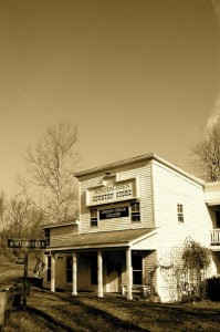 After 12 years in operation, Spruce Creek Gallery in Nellysford, Virginia will close at the end of January 2009.