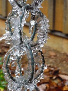 Photo By Nancy Maxon ©2009 NCL Magazine : The chilly oriental waterspout, NelsonCounty-style!