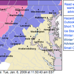 Weather Advisories Continue For Nelson & Central Virginia : 12 Noon Update