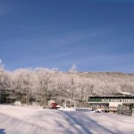 Wintergreen: Snow Falls Overnight In Nelson County, Virginia Mountains