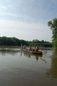 As part of the maiden voyage, members of The Wintergreen Nature Foundation got the chance to float the James from Howardsville to Scottsville this past weekend.