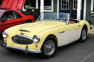 This Austin Healey owned by Dave Schweninger of Nelson County has been fully restored. We first told you about his project back in 2005 in the photo below.