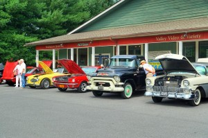 Photos By Paul Purpura : ©2009 www.nelsoncountylife.com : Owners showed off some of thier cool classic cars Saturday in Nellysford. Click to enlarge on any photo.