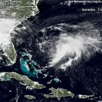 Atlantic Storm Danny May Affect Weekend Weather : 8.27.09